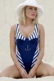 Plavky Jane dámské jednodílné  8P005