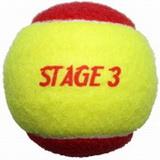 dětské tenisové míče Merco Stage 3
