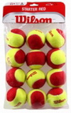 tenisové míče Wilson Starter Red