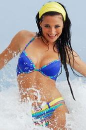 plavky Jane AQUILA dvojdílné 7A11 - zvětšit obrázek