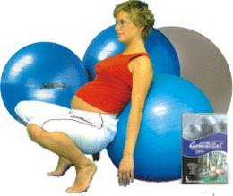 Gymnastický míč Maxafe 75cm - zvětšit obrázek