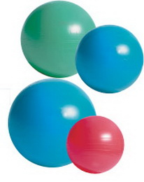 GYM Ball 65cm Coretec + HUSTILKA - zvětšit obrázek