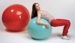 Gymnastický míč Therasensory 100cm Gymnic - zvětšit obrázek