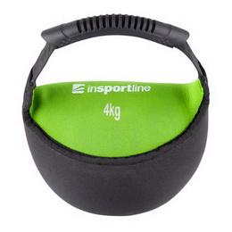 Neoprenová činka inSPORTline Bell-bag 4 kg - zvětšit obrázek