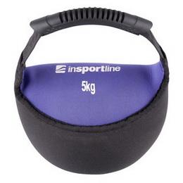 Neoprenová činka inSPORTline Bell-bag 5 kg - zvětšit obrázek