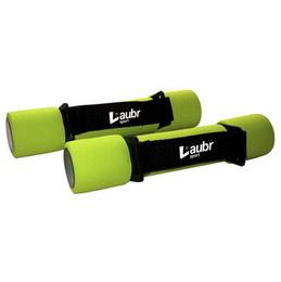 Činky na aerobic Laubr 2x1kg - zvětšit obrázek