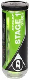 tenisové míče Dunlop Stage 1 Green Mini - zvětšit obrázek