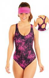 Jednodílné sportovní plavky Litex 93456 - zvětšit obrázek